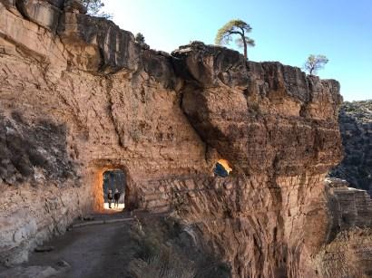 Bright Angel Trail Tunnel 1