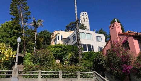 Climbing a Secret San Francisco Staircase to Coit Tower
