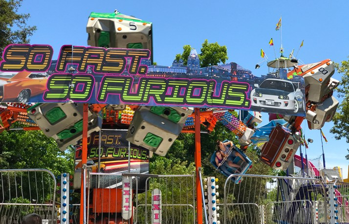 Fast And Furious Carnival Midway Ride