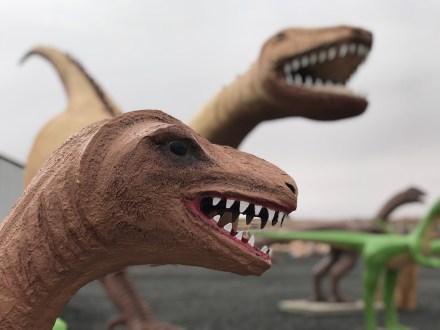 Holbrook, Arizona Dinosaur Statues