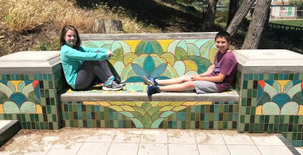 The Lincoln Park Steps Are Mosaic Tiled Stairs in an Francisco