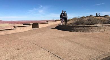 Natalie and Carter Bourn at Pintado Point
