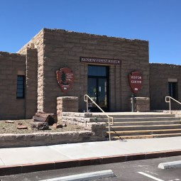 Petrified FOrest National Park Southern Visitor Center at Rainbow Forest
