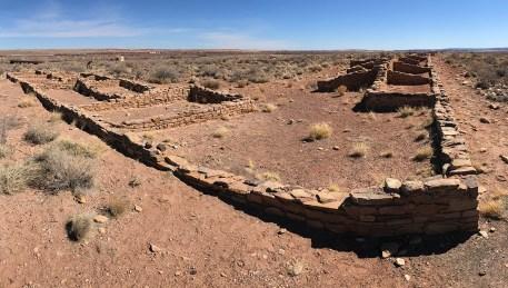 Puerco Pueblo Ruins at Petrified Forest National Park
