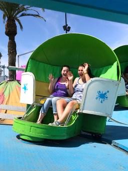 Sacramento County Fair Midway Rides
