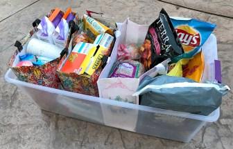 Storing Road Trip Dry Food
