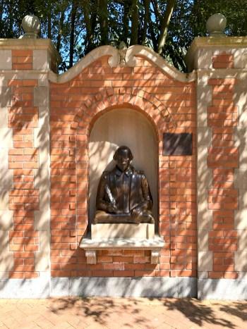 William Shakespeare Statue at Golden Gate Park