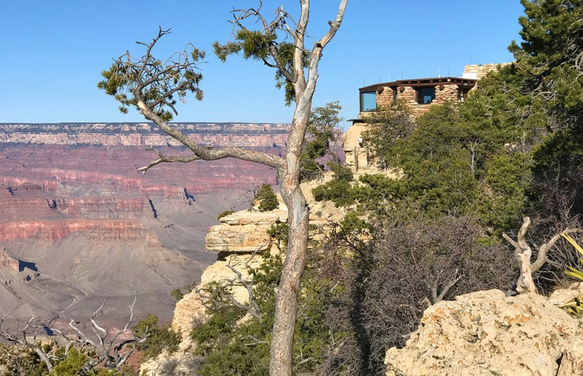 Yavapai Geology Museum and Overlook on the South Rim of Grand Canyon