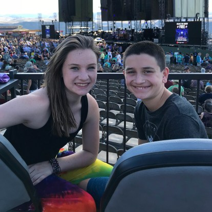Natalie and Carter Bourn Box Seats For Dead & Company At The Gorge