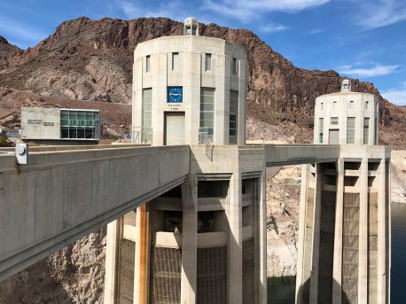 Nevada Time Clock at Hoover Dam