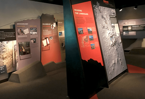 Newberry Volcano Lava Lands Visitor Center Museum Exhibits