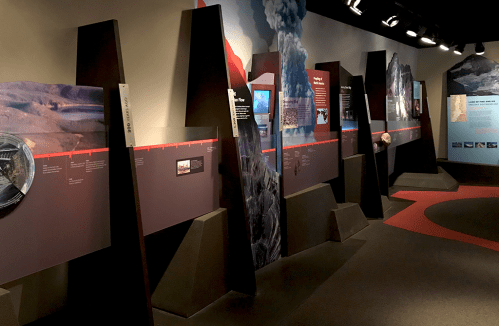 Lava Lands Visitor Center Museum Exhibits