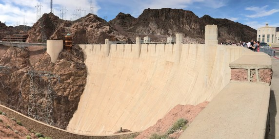 View of Hoover Dam