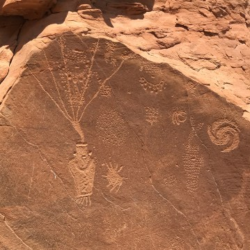 Ancient Fremont Petrglyphs Made 1,000 Years Ago