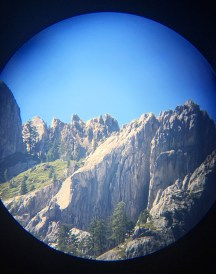 Castle Crags View from the Viewing Telescope