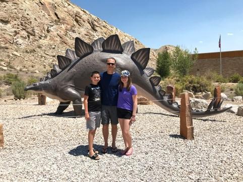 Dinosaur National Monument Stegosaurus