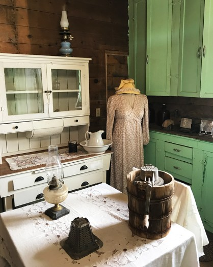 Display Inside the Historic House at the Humboldt Museum