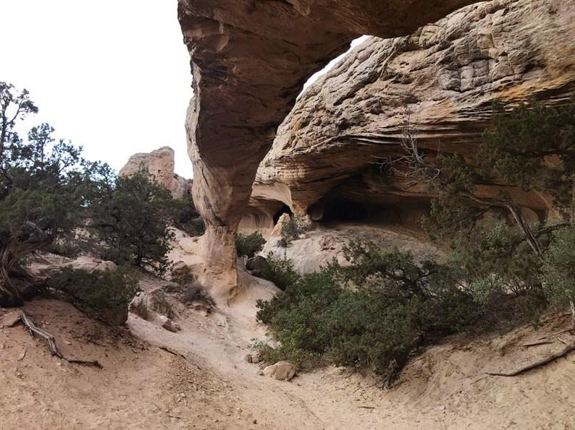 Exploring Moonshine Arch