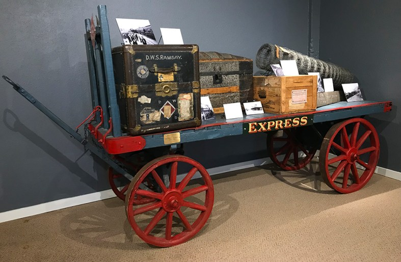 Express Wagon Display