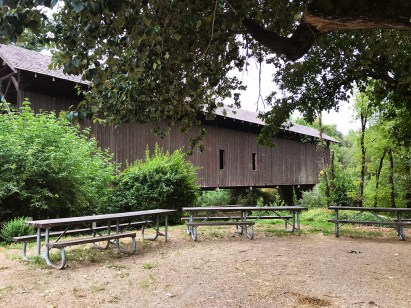 Picnic Area at the Felton Covered Bridge Park