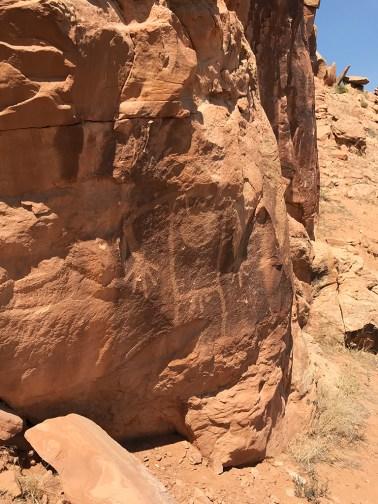 A Collection of Ancient Fremont Petroglyphs