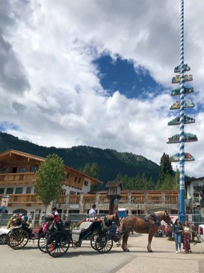 Leavenworth Horse Drawn Carriage Rides