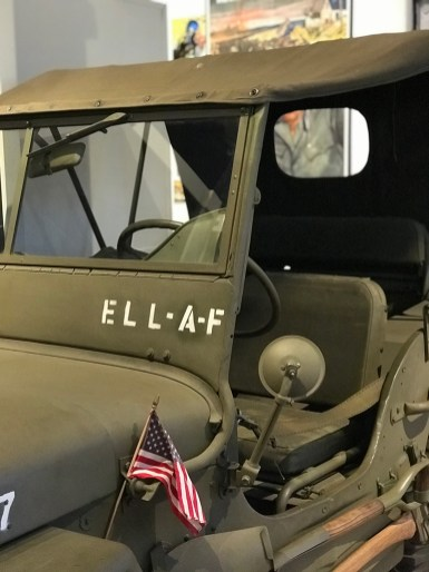 Old Army Jeep at the Kittitas County Museum