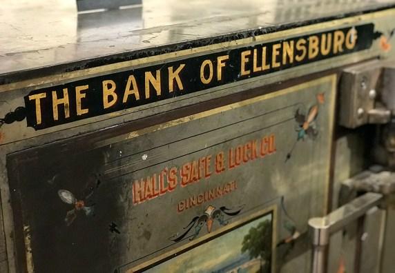 Old Bank of Ellensburg Safe