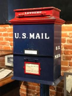 Old US Mail Postal Box