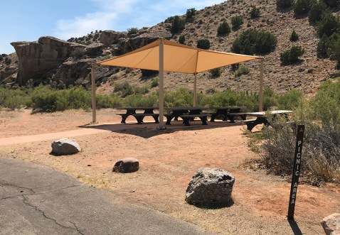 Day Use Picnic Area in Dinosaur National Monument