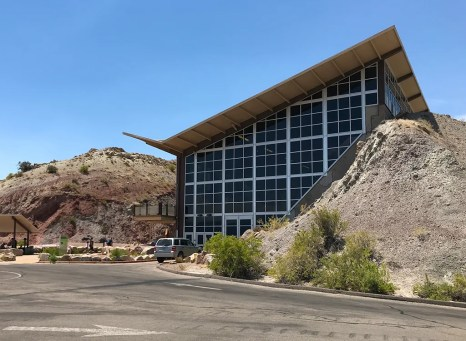 Quarry Exhibit Hall Building At DInosaur National Monument