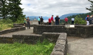 Visiting the Portland Women's Forum State Scenic Viewpoint in Oregon