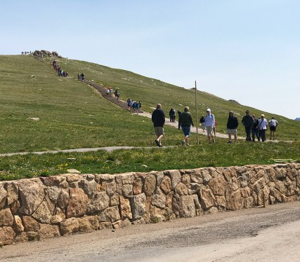Alpine Ridge Trail at the Alpine Visitor Center