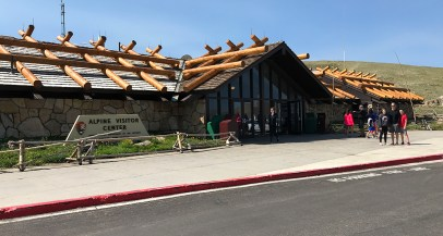 Alpine Visitor Center on Trail Ridge Road