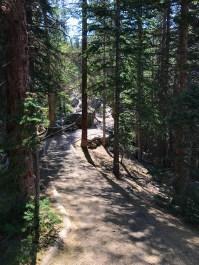 Bear lake Loop Trail at Rocky Mountain National Park