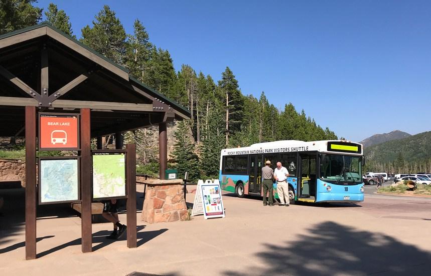 Bear Lake Road Shuttle Bus