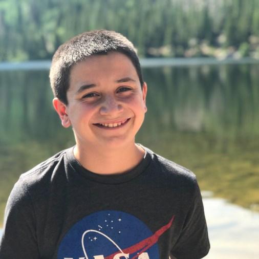 Carter Bourn at Bear Lake