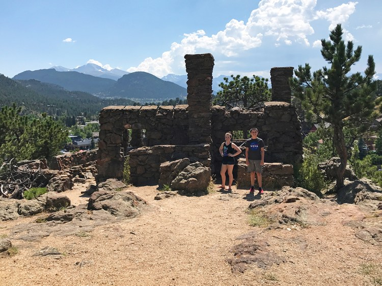 Hike To Birch Ruins in Estes Park