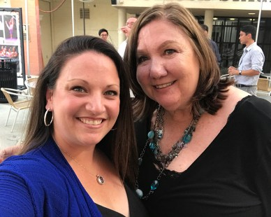 Jennifer Bourn and Julie Gallher