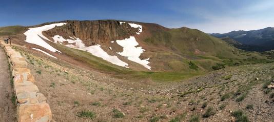 Lava Cliffs Overlook on Trail Ridge Road