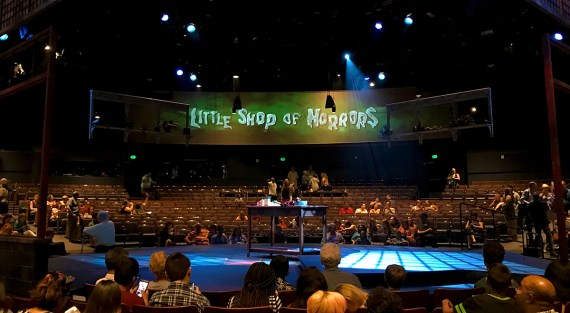 Little Shop of Horrors Performed In The Theater-In-The-Round at Music Circus Sacramento