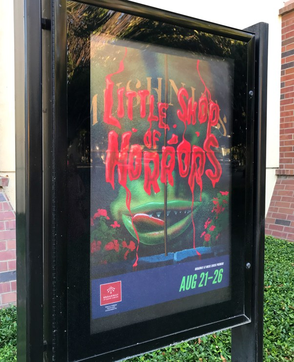 Little Shop Of Horrors Sign
