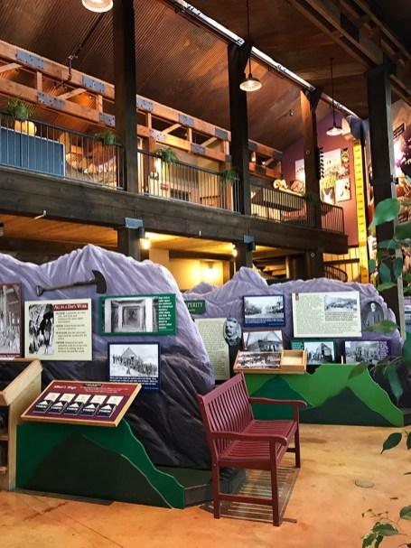 Inside the Cripple Creek Heritage Center