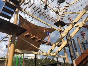 Three Story Manitou Springs Ropes Course