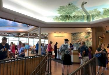 Visitor Center Information esk at Garden Of The Gods