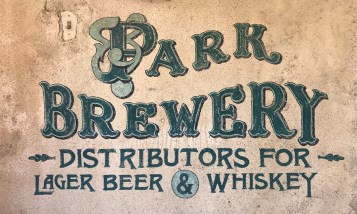 Brewery Sign at Old Tucson