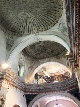 Ceilings at Mission San Xavier del Bac
