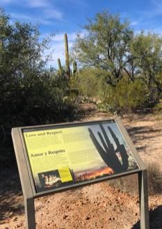 Desert Ecology Trail Interpretive Sign
