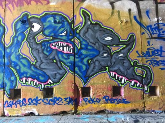 Donner Summit Graffiti in Abandoned Train Tunnels