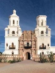 Mission San Xavier Del Bac Entrance